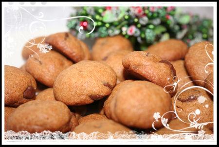 Cinnamon-chocolate cookies