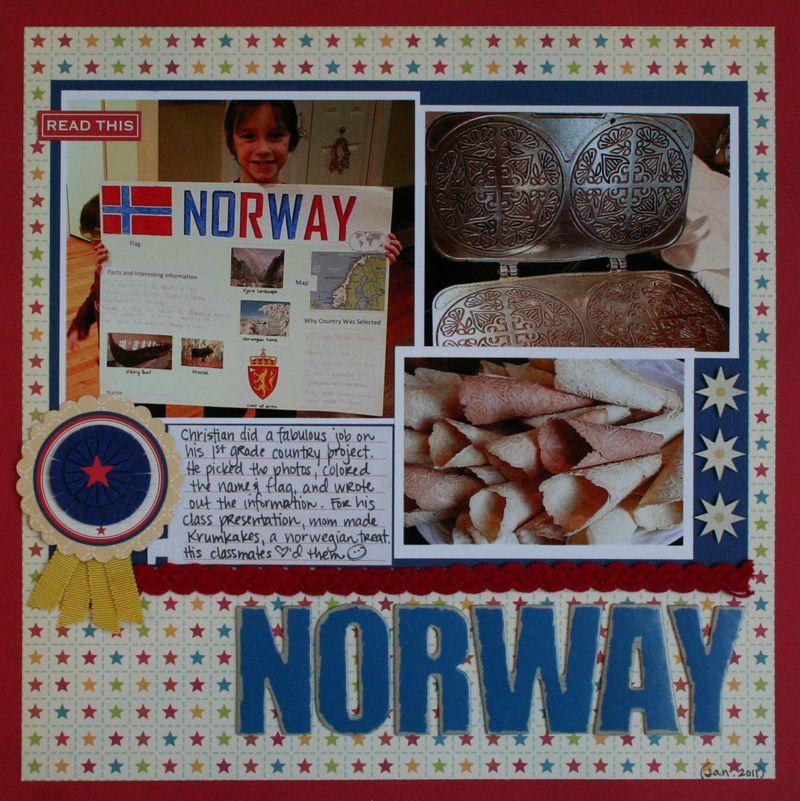 PDW Melanie Norway