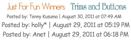 Trim winners