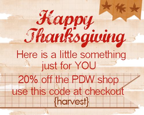 Blog thanksgiving code