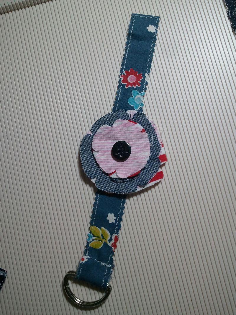 25Feb7 Fabric bracelet