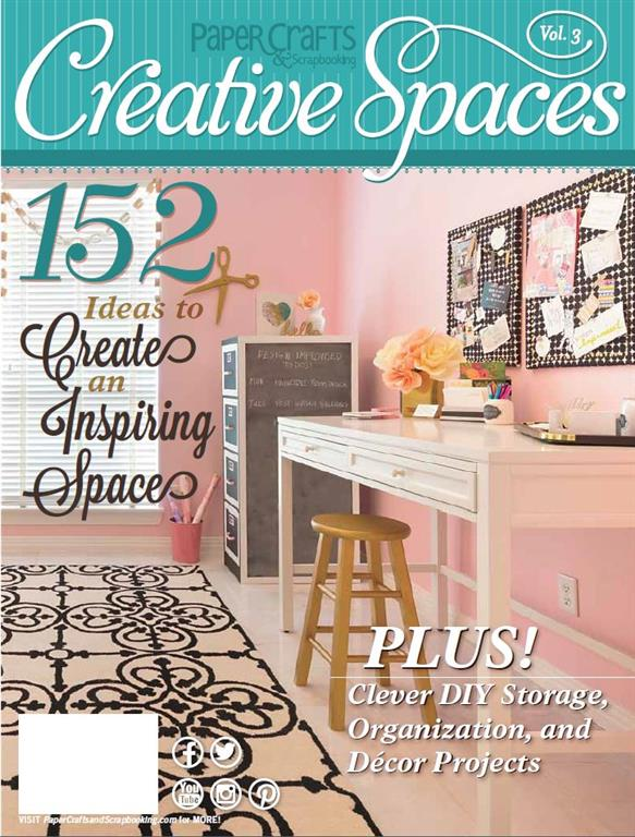 Creative Spaces Volume 3 Cover (Medium)